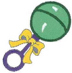Baby Rattle Embroidery Designs, Machine Embroidery Designs ...
