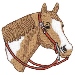 Paint Horse Head Embroidery Designs Machine Embroidery