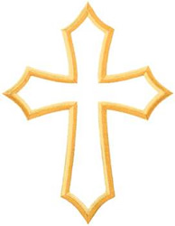 Free Machine Embroidery Christian Cross Designs