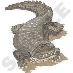 Free Embroidery Designs, Cute Embroidery Designs  |Alligator Design Embroidery Floss