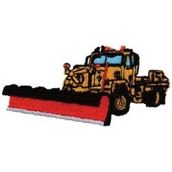 snow plow machine