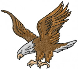American Bald Eagle Embroidery Designs Machine Embroidery