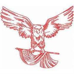 RW American Eagle Embroidery Designs Machine Embroidery
