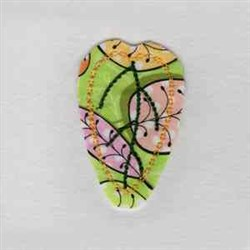 Leaf Hair Clip Embroidery Designs Machine Embroidery