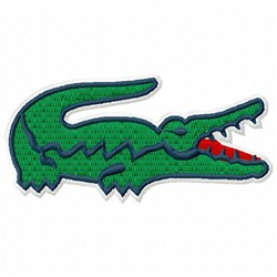 Alligator Golf Embroidery Designs, Machine Embroidery ...  |Alligator Design Embroidery Floss