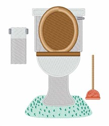 Bathroom Toilet Embroidery Designs, Machine Embroidery ...
