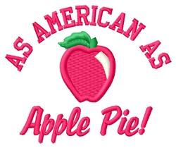 Free Apple Pie Embroidery Design
