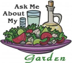 Machine Embroidery Designs Embroidery Design My Garden 6