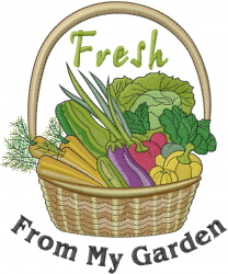 From My Garden Embroidery Designs Machine Embroidery