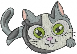 machine embroidery cat designs