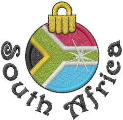 Christmas South Africa Embroidery Designs Machine