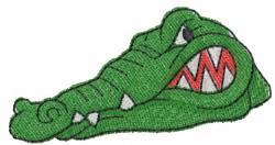 Baby Alligator Embroidery Designs, Machine Embroidery ...  |Alligator Design Embroidery Floss