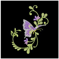 Butterfly Flower Embroidery Designs Machine Embroidery