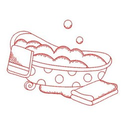 Redwork Bath Time Embroidery Designs, Machine Embroidery ...