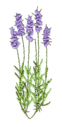 Lavender Plant Embroidery Designs Machine Embroidery Designs At