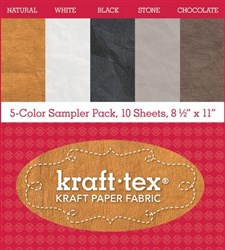 Kraft-tex 5 Color Sampler Pack