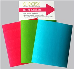 G Easy Ruler Stickers / Quilters Tools & Accessory