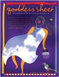 """Goddess Sheet (10.75"""" x 16.5"""")"""