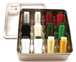 Isacord Holiday Tin (12 Spools)