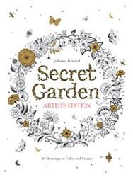Secret Garden; The Artist's Edition Coloring Book