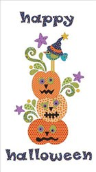 Pumpkin Patch - Panel Applique Pieces