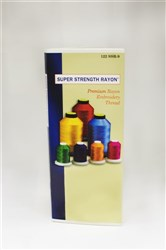 Robison Anton Super Strength Rayon Color Card