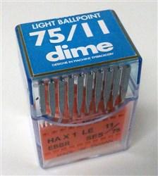 Triumph Flat Shank Needles #75/11 Light Ball Point - 20 Pack