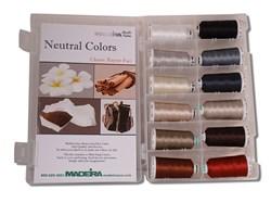 Madeira Classic Rayon Pastel Shade Kit
