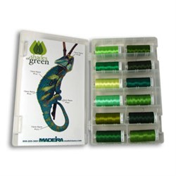 Classic Rayon Green Shade Kit