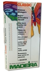 Madeira Classic Rayon Color Card