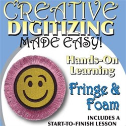 Creative Digitizing Fringe and Foam